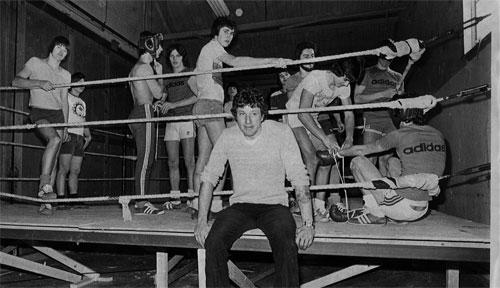 Le jour de l'ouverture du Club en 1976
