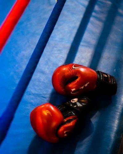 Gants de boxe olympique